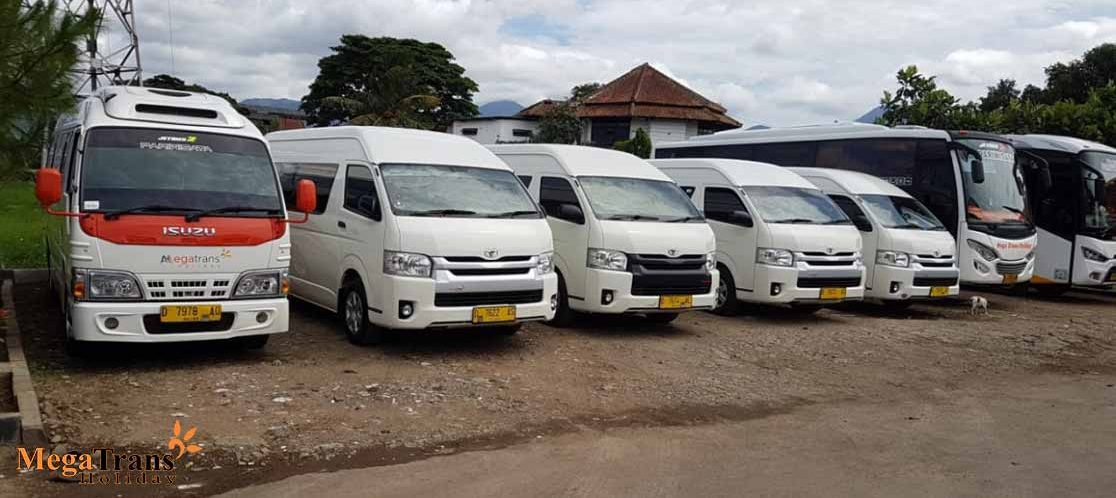 Sewa Mini Bus Megatrans Holiday Terbaru